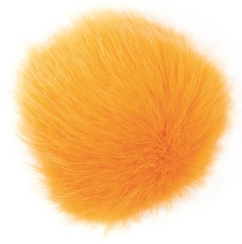 Rico Kunstfell Pompon Medium 21 Saffran