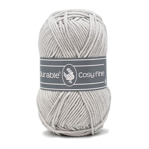 Durable Cosy Fine 2228 Grey Silver
