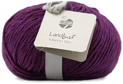 Lana Grossa Landlust Merino 180 222 Red/Violet