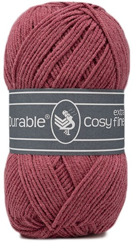 Durable Cosy Extra Fine 228 Raspberry