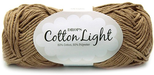 Drops Cotton Light Uni Colour 22 Brown