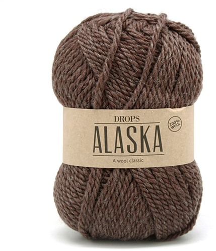 Drops Alaska Uni Colour 23 Brown