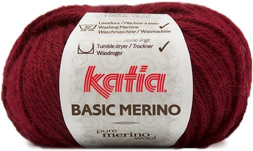 Katia Basic Merino 23 Dark maroon