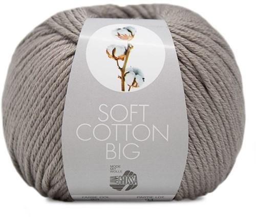 Lana Grossa Soft Cotton Big 23 Brown