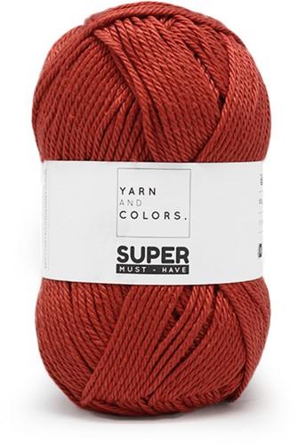 Yarn and Colors Bobbles Comfy Cushion Häkelpaket 023 Brick