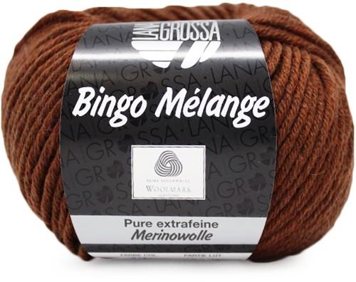 Lana Grossa Bingo Melange 241 Chestnut Mottled