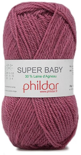 Phildar Super Baby 2424 Lie de Vin