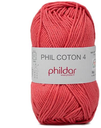Phildar Phil Coton 4 2460 Pasteque