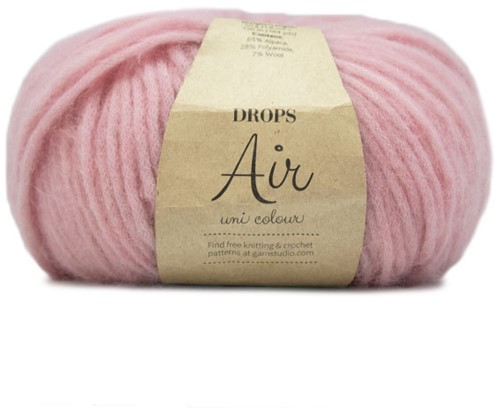 Drops Air Uni Colour 24 Pink