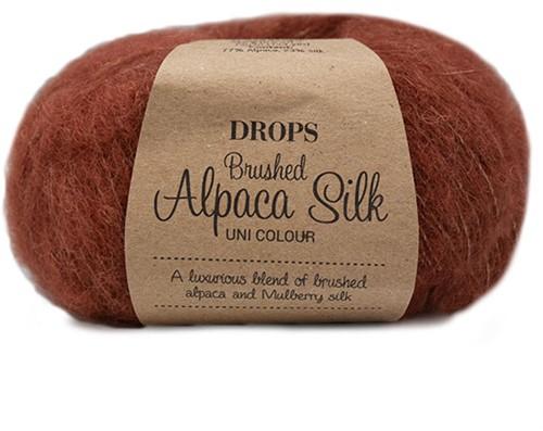 Drops Brushed Alpaca Silk Uni Colour 24 Rust