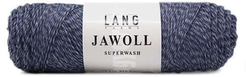 Lang Yarns Jawoll Superwash 258 Jeans/Blue Mouliné