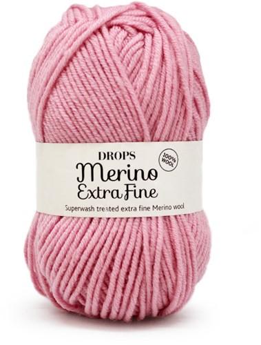 Drops Merino Extra Fine Uni Colour 25 Rosa
