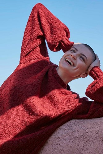 Strickanleitung Laugh Lots Pullover
