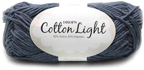 Drops Cotton Light Uni Colour 26 Jeans-blue