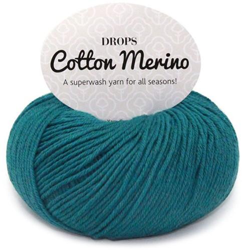 Drops Cotton Merino Uni Colour 26 Sturmblau
