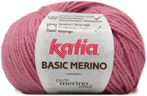 Katia Basic Merino 26 Medium rose