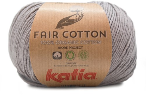 Katia Fair Cotton 26 Medium Grey