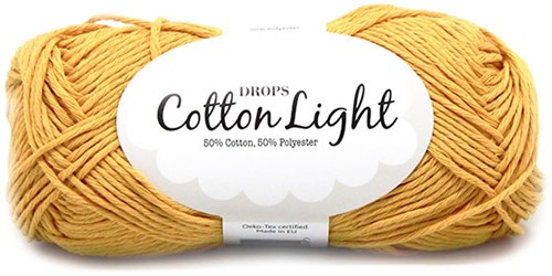 Drops Cotton Light Uni Colour 28 Yellow