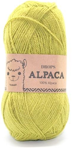 Drops Alpaca Uni Colour 2916 Dunkel-lime