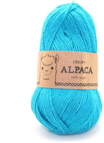 Drops Alpaca Uni Colour 2918 Dunkeltürkis