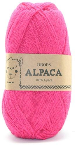 Drops Alpaca Uni Colour 2921 Himbeer
