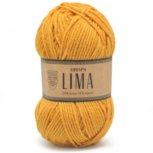 Drops Lima Uni Colour 2923 Goldenrod