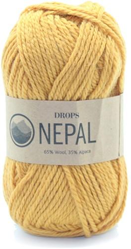 Drops Nepal Uni Colour 2923 Ocker