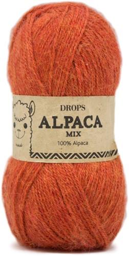 Drops Alpaca Mix 2925 Orangemeliert