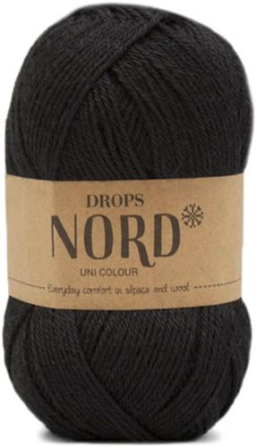 Drops Nord Uni Colour 02 Black