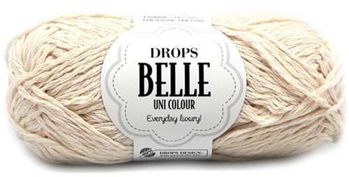 Drops Belle Uni Colour 02 Off-white