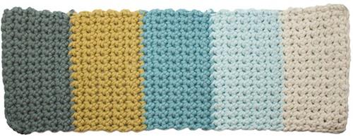 Yarn and Colors Colorblocking-Decke Häkelpaket 3