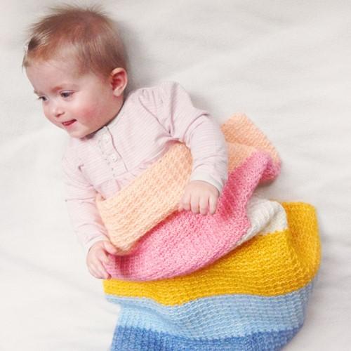 Charming Babydecke Häkelpaket