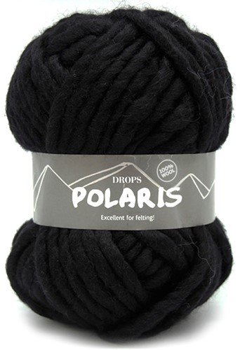 Drops Polaris Uni Colour 02 Black