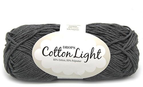 Drops Cotton Light Uni Colour 30 Dark-grey