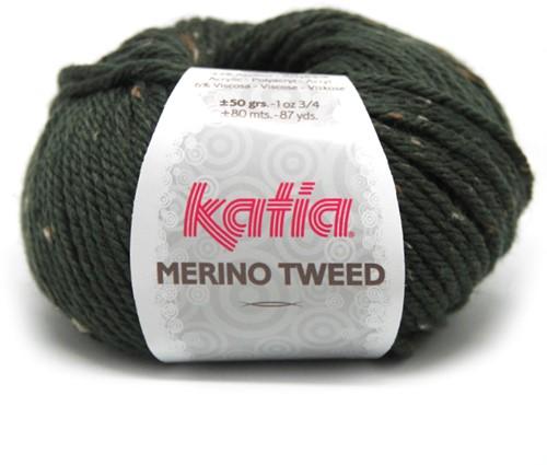 Katia Merino Tweed 310 Dark green