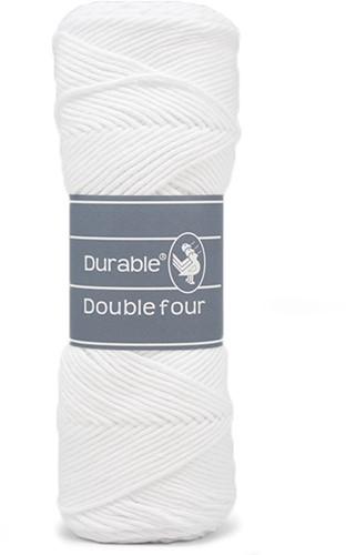 Durable Double Four 310 White