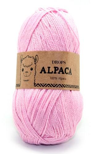 Drops Alpaca Uni Colour 3140 Hellrosa