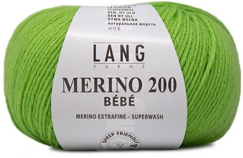 Lang Yarns Merino 200 Bebe 316 Apple