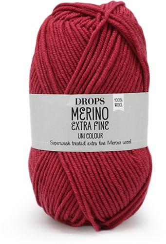 Drops Merino Extra Fine Uni Colour 32 Dunkelrosa