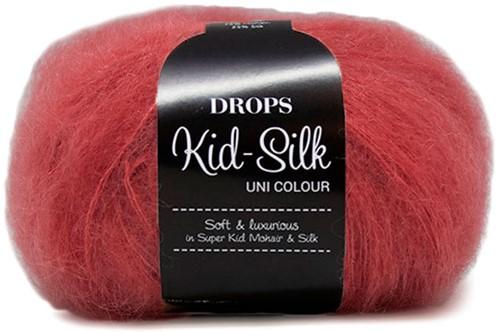 Drops Kid-Silk Uni Colour 32 Himbeere