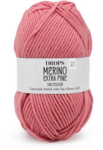 Drops Merino Extra Fine Uni Colour 33 Rosa