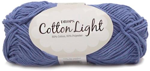 Drops Cotton Light Uni Colour 33 Blue-bonnet