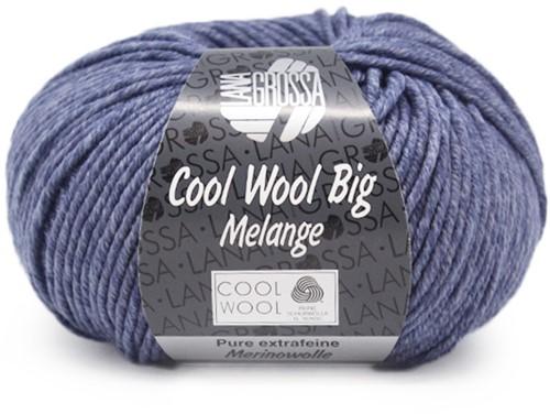 Lana Grossa Cool Wool Big Melange 341 Pigeon Blue Mottled