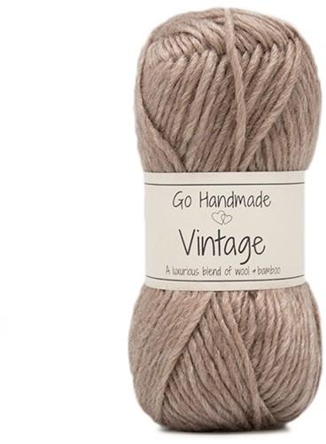 Go Handmade Vintage 34 Brown