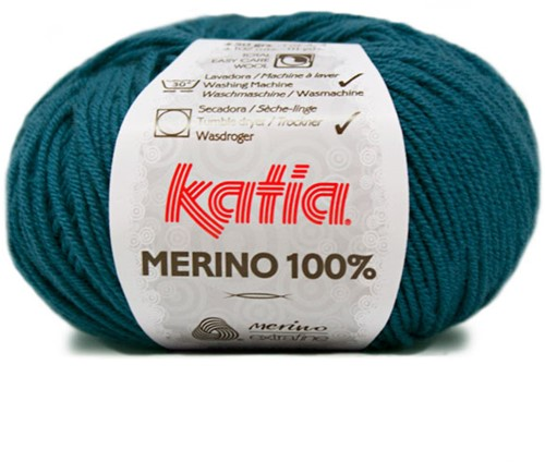 Katia Merino 100% 34 Green blue