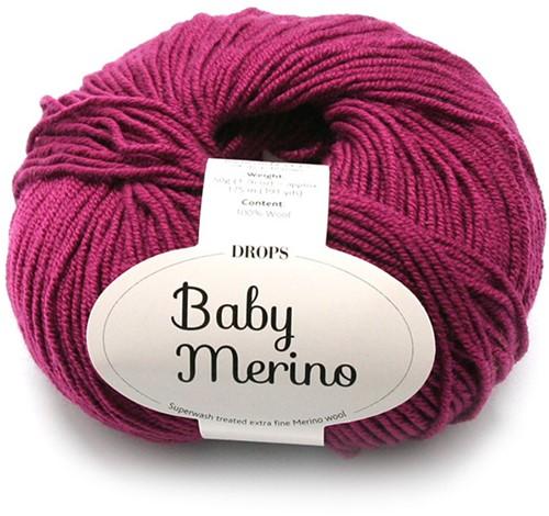 Drops Baby Merino Uni Colour 34 Erika