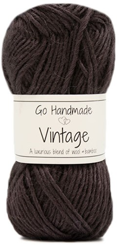 Go Handmade Vintage 35 Dark Brown