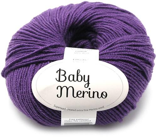 Drops Baby Merino Uni Colour 35 Dunkel-lila