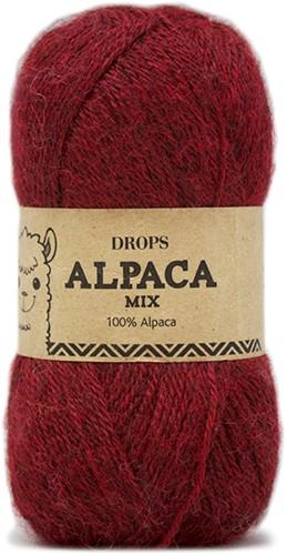 Drops Alpaca Mix 3650 Rotmeliert