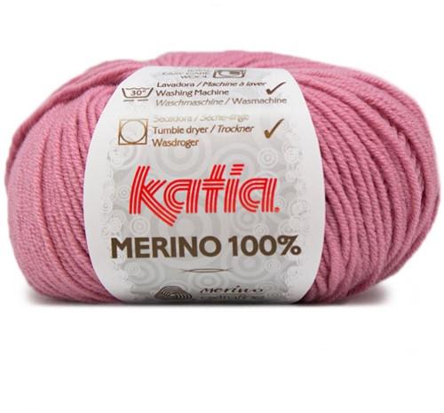 Katia Merino 100% 37 Rose